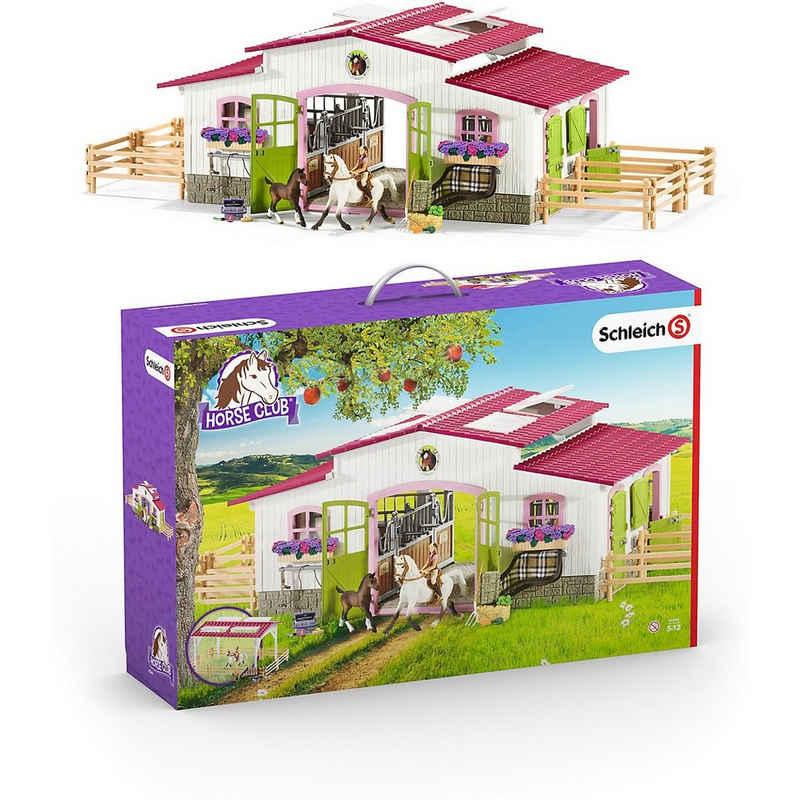 Schleich® Spielfigur »Schleich 42344 Horse Club: Reiterhof mit Reiterin«