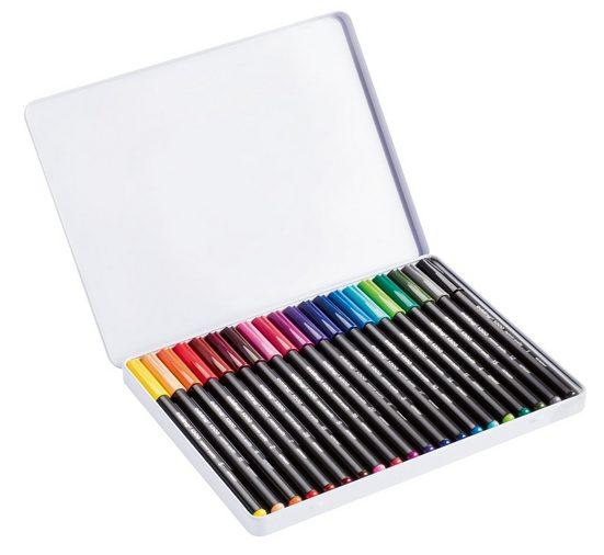 "EDDING Stifte-Box ""1300 Color Pen 2 mm"" 20er-Set in Blechbox"