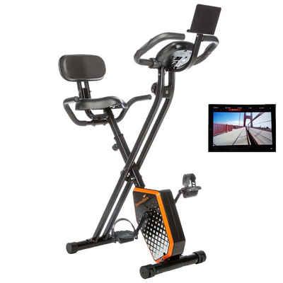 Skandika Fitnessbike »Foldaway X-1000 PLUS (schwarz/orange)«