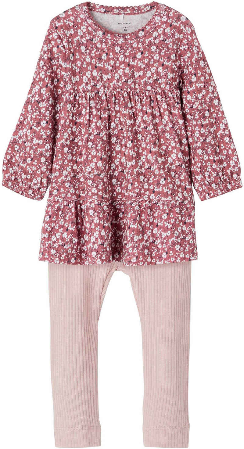 Name It Kleid & Leggings (Set)
