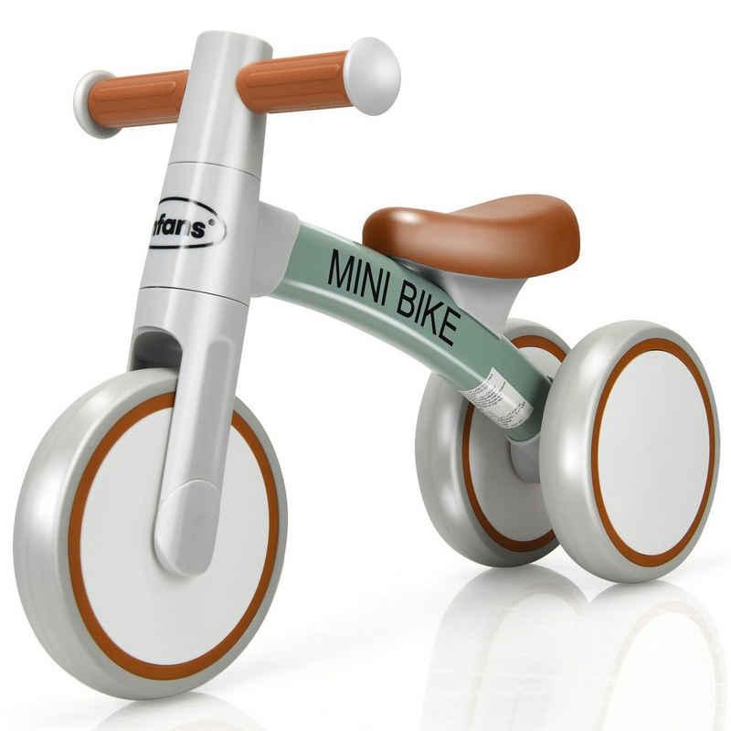 COSTWAY Laufrad »Balance Fahrrad, Balance Bike, Kinderlaufrad«, ohne Pedal, für Kinder von 1-3 Jahre