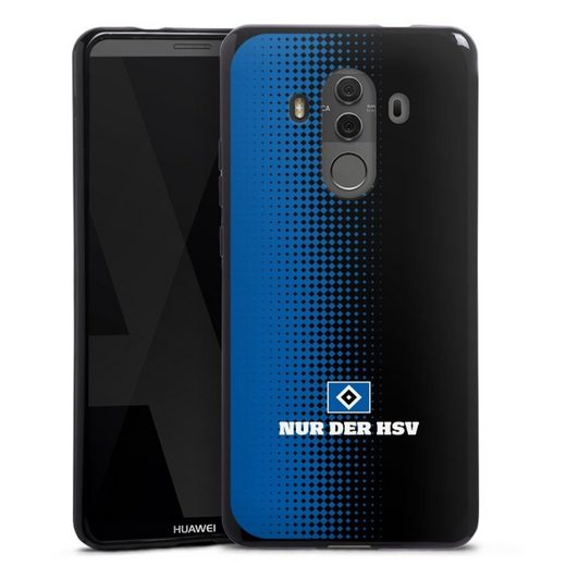 DeinDesign Handyhülle »Nur der HSV - Rautenraster Schwarz« Huawei Mate 10 Pro, Hülle Offizielles Lizenzprodukt HSV Hamburger SV