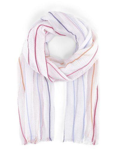 TOM TAILOR Modeschal »Schal mit Streifenmuster«