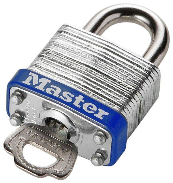 Master Lock Vorhängeschloss, Sicherheitsklasse 5, laminierter Stahl