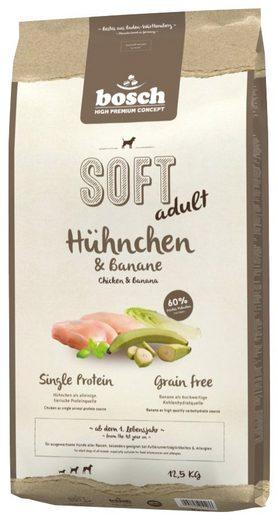 Bosch Petfood Trockenfutter »Soft Huhn und Banane«, 12,5 kg
