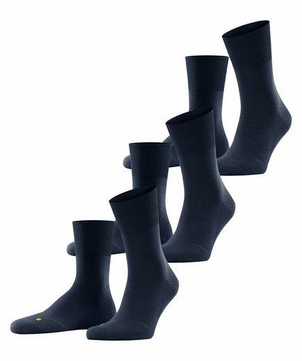 FALKE Socken »Run 3-Pack« (3-Paar) mit Plüschsohle
