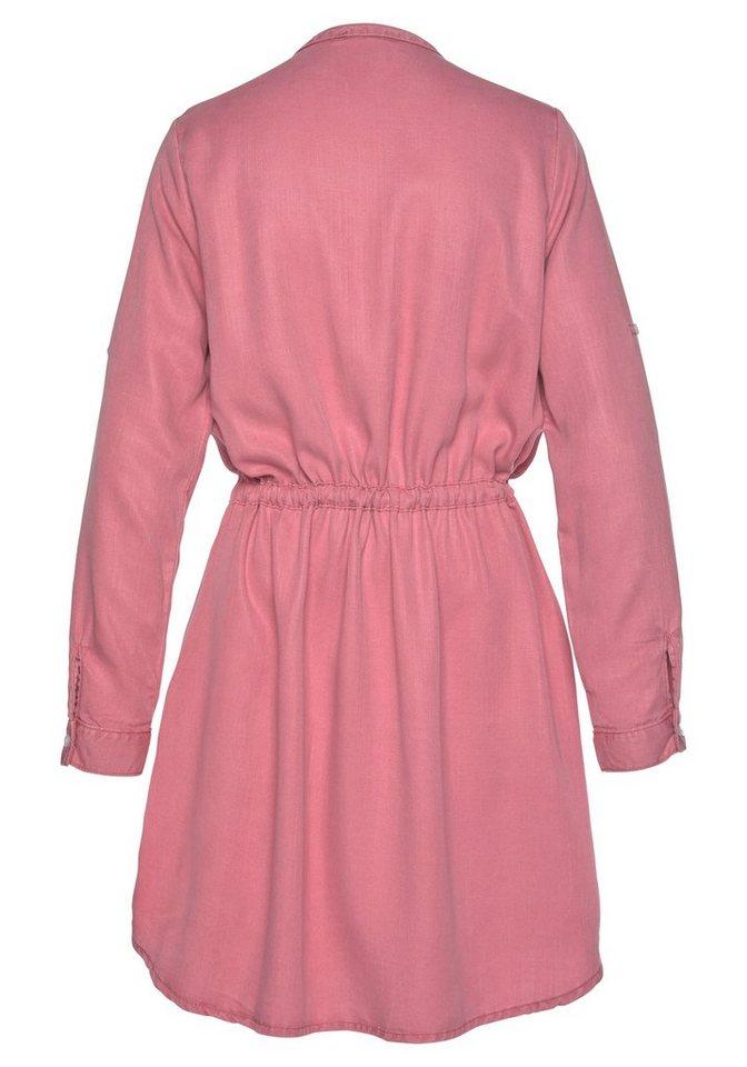 ltb -  Blusenkleid »ELYA« mit Glitzerdetails an den Brusttaschen
