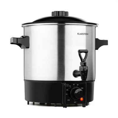 Klarstein Einkochautomat Biggie Eco Einkochautomat & Getränkespender 1000W 30-100°C Zapfhahn 9l, 1000 W