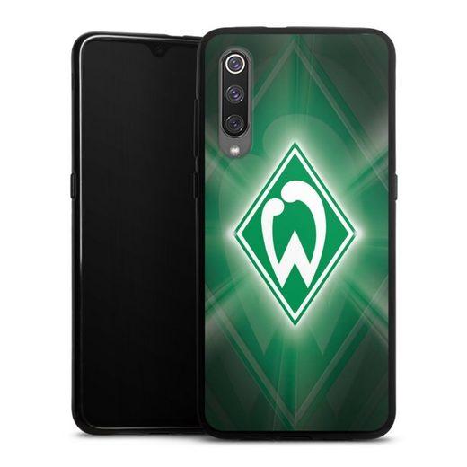 DeinDesign Handyhülle »Werder Bremen Laser« Xiaomi Mi 9, Hülle SV Werder Bremen Offizielles Lizenzprodukt Wappen