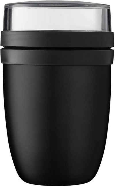 Mepal Lunchbox »Thermo-Lunch Lunchpot Schwarz (Black Edition)«, Stahl/Polypropylen/Silikon, Lunch Pot Ellipse
