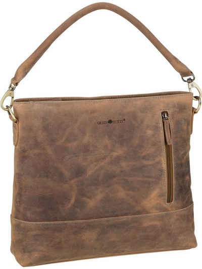 Greenburry Handtasche »Vintage Santana 1619«, Beuteltasche / Hobo Bag