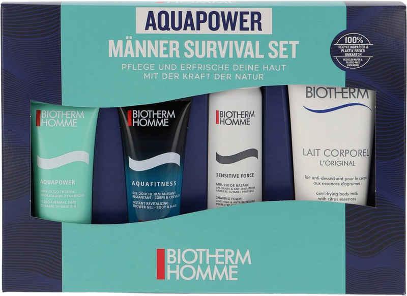 BIOTHERM Gesichtspflege-Set »Homme Aquapower Survival«, 4-tlg.