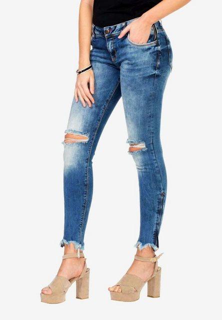 Hosen - Cipo Baxx Slim fit Jeans im angesagten Slim Fit Schnitt ›  - Onlineshop OTTO