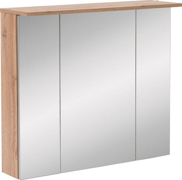 Spiegel - Schildmeyer Spiegelschrank »Nora« mit LED Beleuchtung, Breite 80,5 cm  - Onlineshop OTTO
