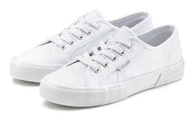 Frauen Echtleder Schuhe Plateauschuhe Damen Bootsform Sneaker Freizeit Schuhe