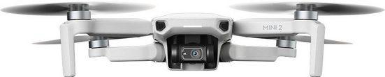 dji »Mavic Mini 2« Drohne (4K Ultra HD, Ultraleichter und faltbarer Drohnen, 3-Achsen-Gimbal mit 4K-Kamera, 31 Minuten Flugzeit, OcuSync 2.0 HD-Videoübertragung, QuickShots mit DJI Fly App)