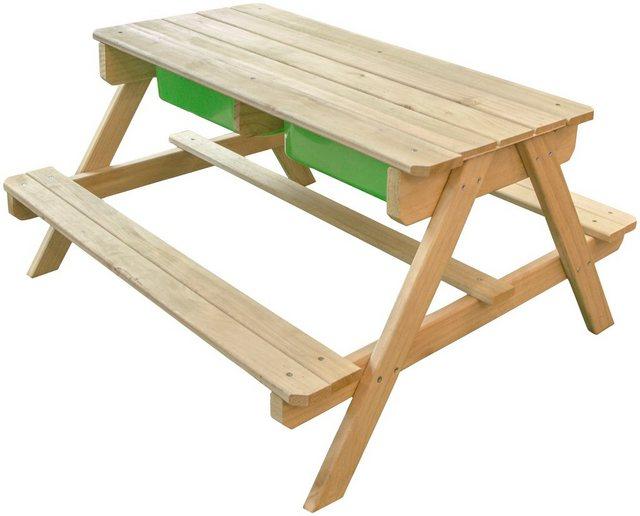 SUNNY Kinderpicknicktisch »Dual Top«, BxLxH: 89x90x50 cm | Baumarkt > Camping und Zubehör > Weiteres-Campingzubehör | Sunny
