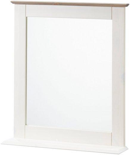 welltime Wandspiegel »Venezia Landhaus/Sund«, Breite 58 cm, aus Massivholz