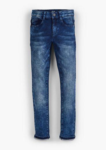 s.Oliver 5-Pocket-Jeans »Super Slim: Jeans mit Waschung« Waschung