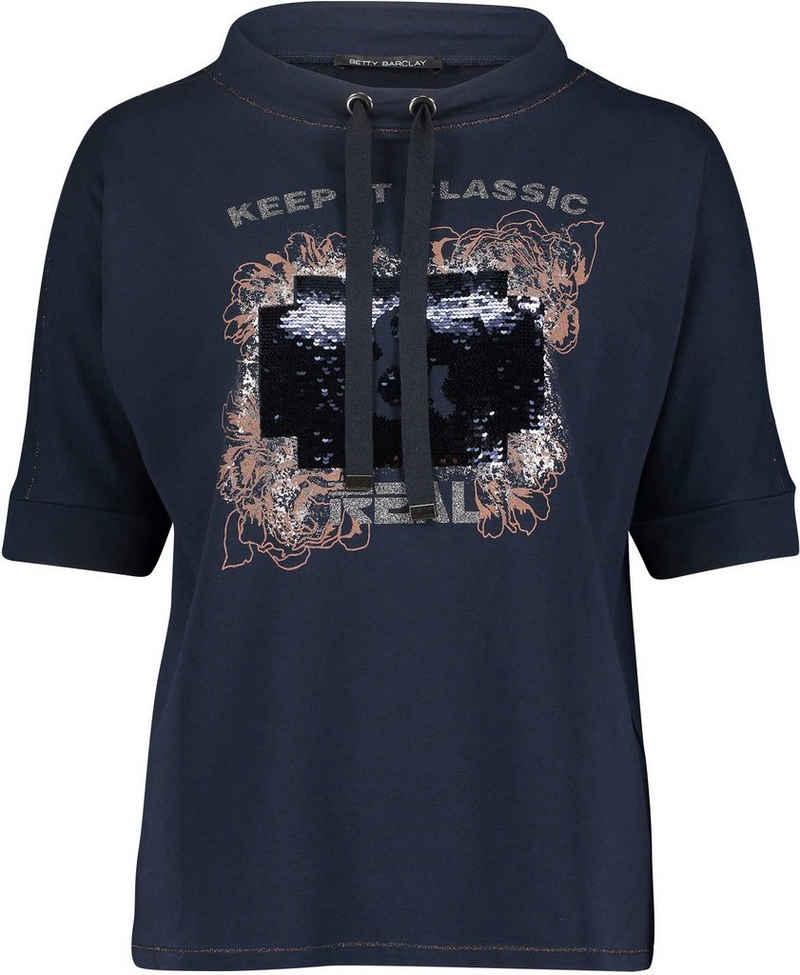 Betty Barclay Print-Shirt mit Kurzarm