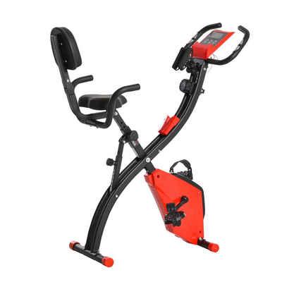 HOMCOM Heimtrainer »Fahrradtrainer mit LCD Display«