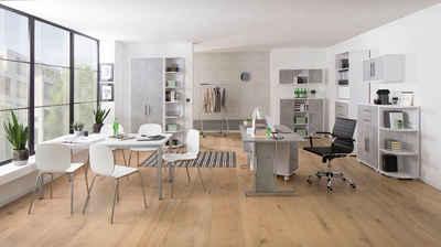 Maja Möbel Büro-Set »SYSTEM 1212«, (11-St)