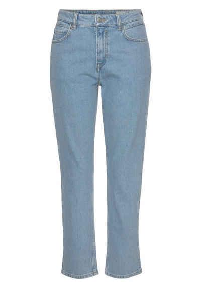 Esprit Relax-fit-Jeans im knöchelangen Cropped-Fit-Look