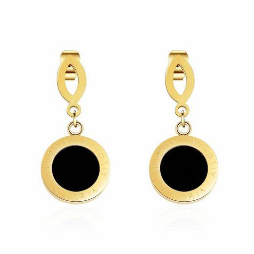 AILORIA Paar Ohrhänger »AGLAÉ«, Ohrringe aus glänzendem Edelstahl