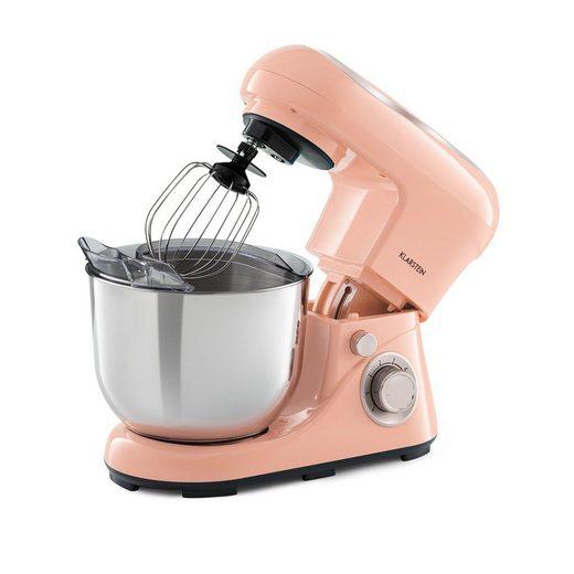 Klarstein Küchenmaschine Bella Pico 2G Küchenmaschine 1300W 1,7PS 6 Stufen 5 Liter, 1200 W, 5 l Schüssel