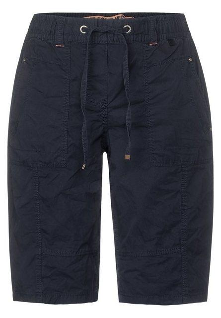 Hosen - Cecil Shorts mit Elastikbund › blau  - Onlineshop OTTO