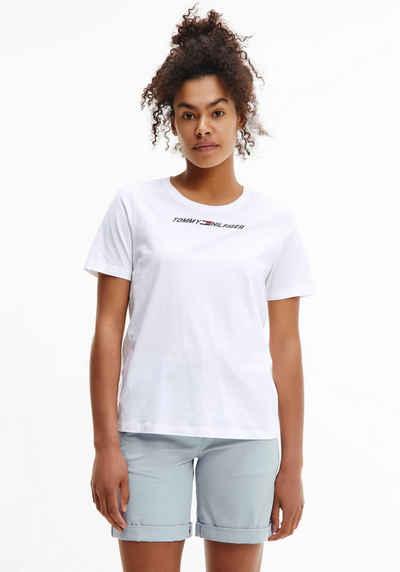 Tommy Hilfiger Sport T-Shirt »LIGHT INTENSITY LBR RACER BRA« mit Tommy Hilfiger Sport Linear Logo
