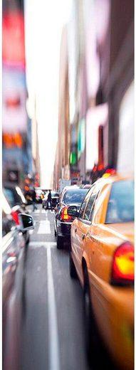 LIVINGWALLS Fototapete »Yellow Cab New York City«