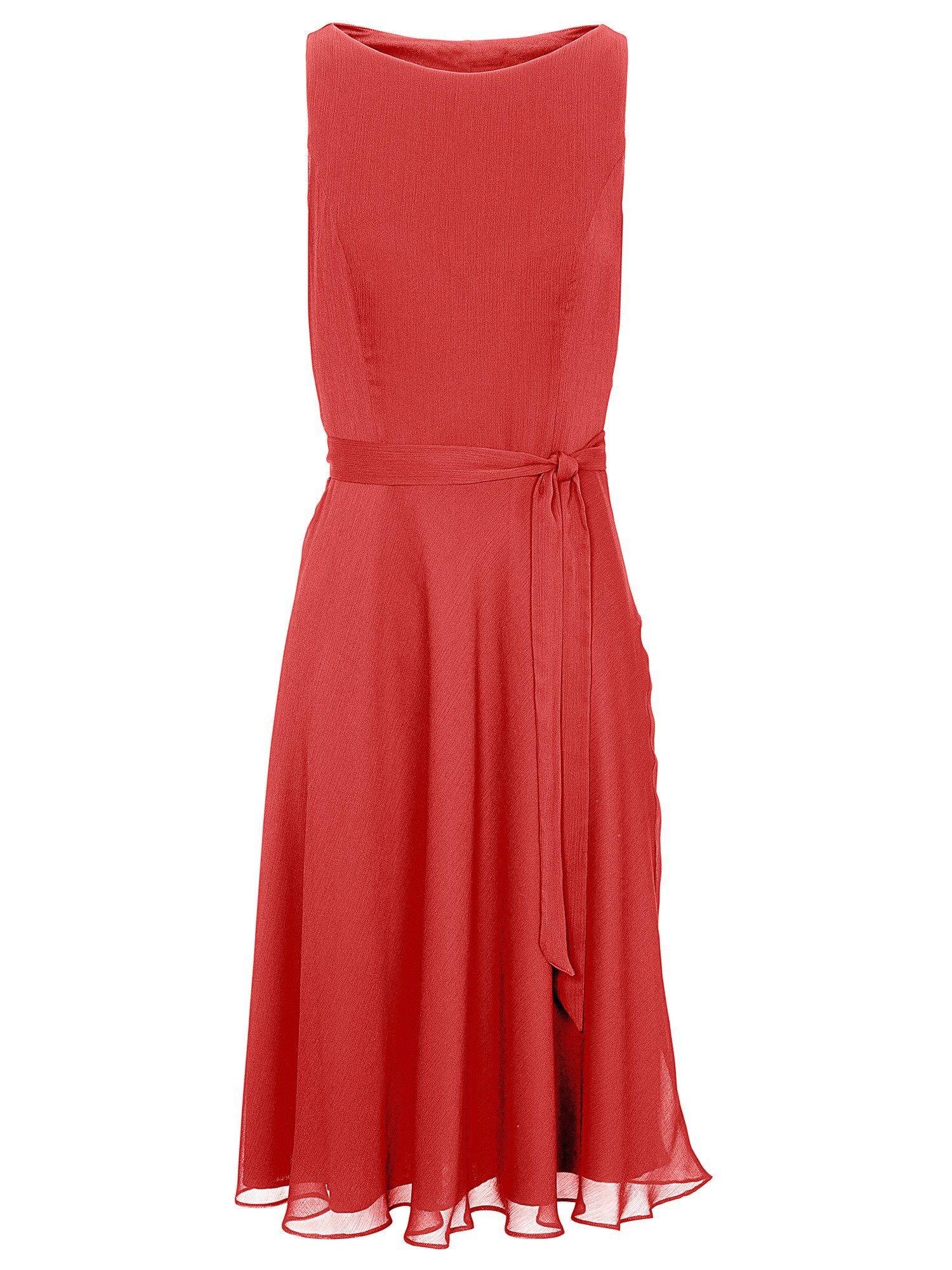 heine TIMELESS Prinzesskleid mit Chiffon, Für einen femininen und eleganten Auftritt online kaufen | OTTO