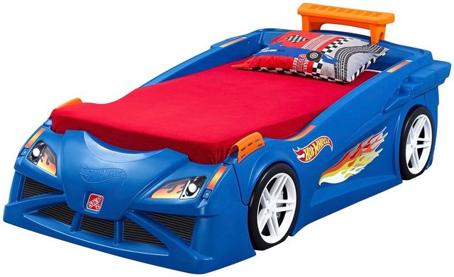 Kinderbetten - STEP2 Kinderbett »Hot Wheels«, BxLxH 132x232x79 cm »  - Onlineshop OTTO