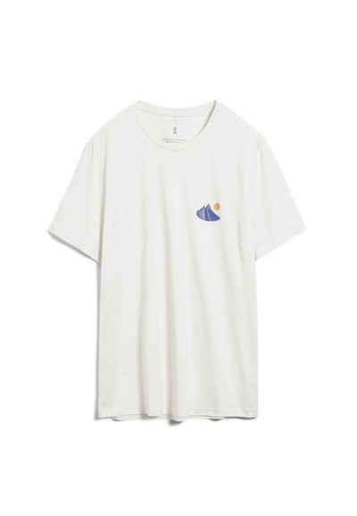 Armedangels Print-Shirt »JAAMES RETRO Herren T-Shirt aus Bio-Baumwolle« (1-tlg)