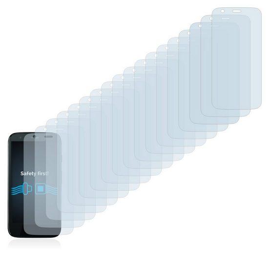 Savvies Schutzfolie »für Motorola Moto G«, (18 Stück), Folie Schutzfolie klar