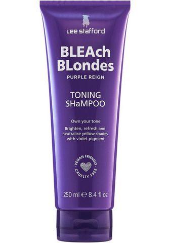 Lee Stafford Haarshampoo »Bleach Blonde Purple Reig...