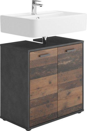 FMD Waschbeckenunterschrank »Madoc« mit 2 Türen