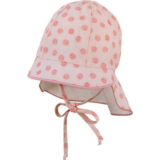 Sterntaler® Sonnenhut »Baby Sonnenhut für Mädchen, Organic Cotton«