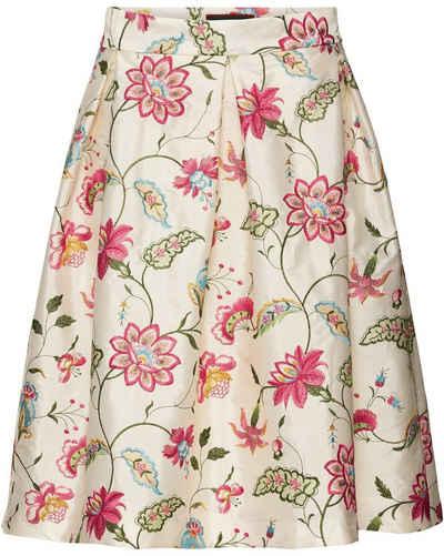 Reitmayer Trachtenrock »Taftrock mit Blumenstick«