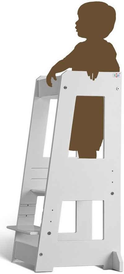tiSsi® Stehhilfe »Lernturm Felix, weiß«, Made in Europe