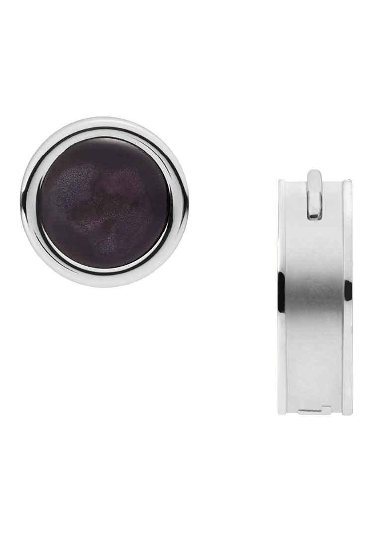 Diesel Ohrring-Set »Ohrringset: Single-Creole und Single-Ohrstecker, Earring, DX1324040« (Set, 2-tlg), mit Perlmutt