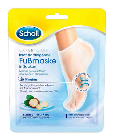 Scholl Fußmaske »Expert Care Intensiv pflegend«, in Socken