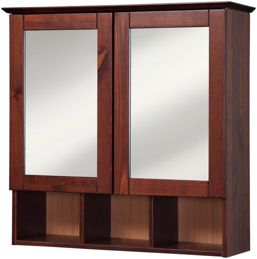welltime Spiegelschrank »Landhaus Sylt« Breite 60 cm, aus Massivholz