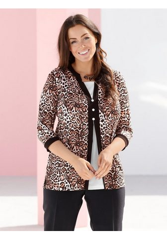 m. collection Palaidinė 2-in-1 in Animal Print