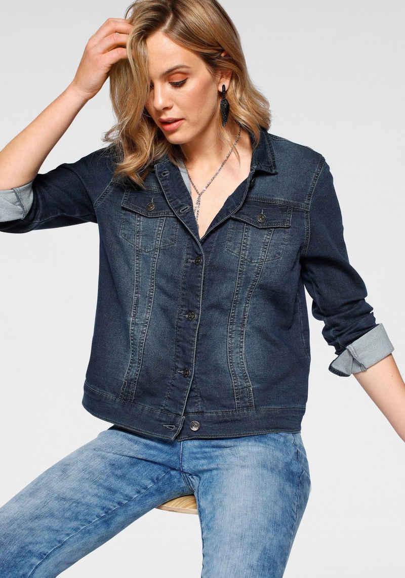 Arizona Jeansjacke aus Jogg-Denim