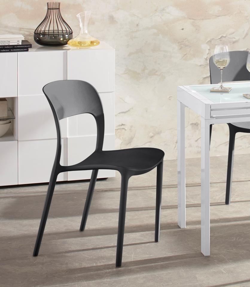 Stühle, stapelbar (4 Stück) online kaufen   OTTO