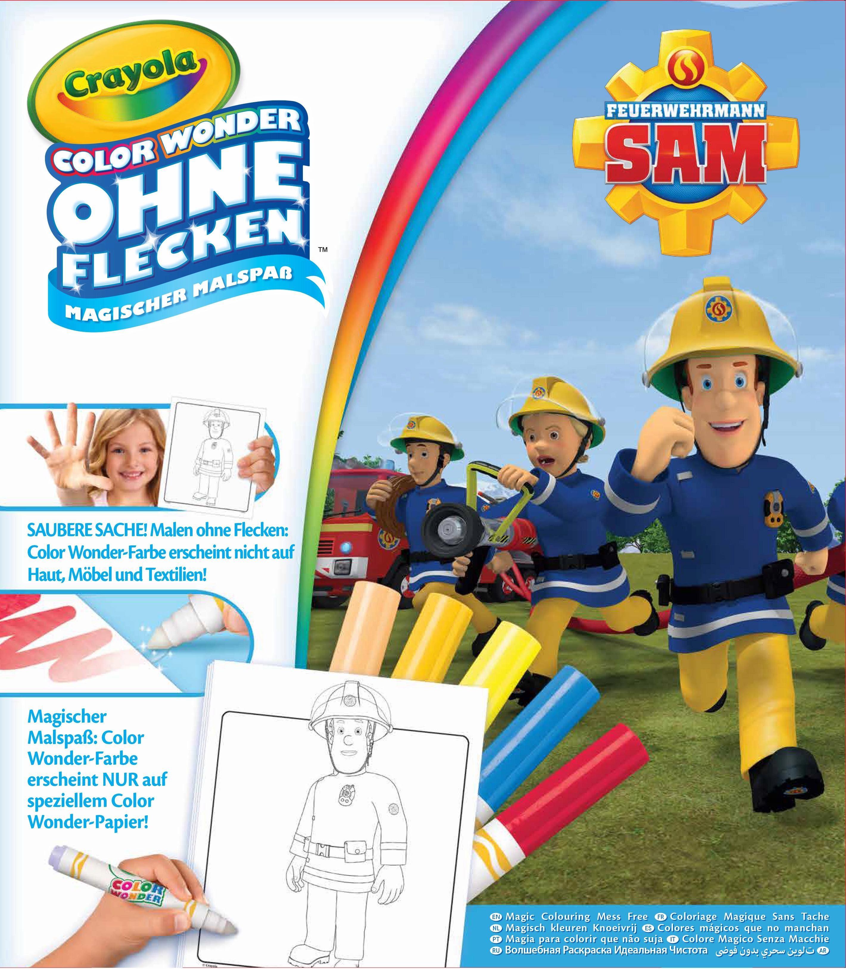 Malset, »Color Wonder Feuerwehrmann Sam«
