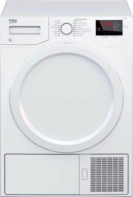 BEKO Kondenstrockner D 8331 PA0, 8 kg | Bad > Waschmaschinen und Trockner > Kondenstrockner | Beko