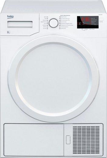 beko kondenstrockner d 8331 pa0 8 kg energieeffizienzklasse c a bis d online kaufen otto